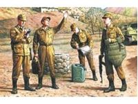 Immagine di ICM - 1:35 - Soviet Motorized Infantry (1979-1988) (4 figures - 1 officer, 3 soldiers) 35331