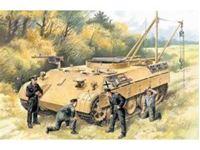 Immagine di ICM - 1:35 - Bergepanther with German Tank Crew 35342