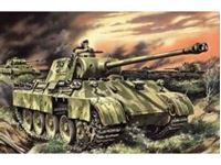 Immagine di ICM - 1:35 - Pz.Kpfw.V Panther Ausf.D, WWII German Tank 35361