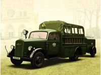 Immagine di ICM - Typ 2,5-32 KzS 8, WWII German Light Fire Truck 35403