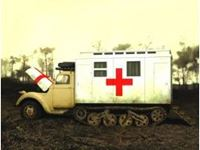 Immagine di ICM - 1/35 V3000S/SS M Maultier with Shelter, WWII German Truck 35414