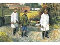 Immagine di ICM - 1:35 - Soviet Medical Personnel (1943-1945) (1 nurse, 2 medical orderlies, 1 injured) 35551
