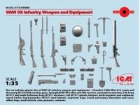 Immagine di ICM - 1/35 WWI US Infantry Weapon and Equipment 35688