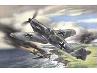 Picture of ICM - 1:48 - Messerschmitt Bf 109F-2, WWII German Fighter 48102
