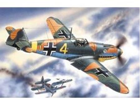 Immagine di ICM - 1:48 - Messerschmitt Bf 109F-4, WWII German Fighter 48103