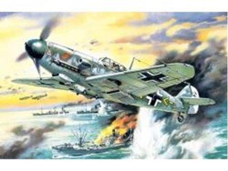 Immagine di ICM - 1:48 - Messerschmitt Bf 109F-4/B, WWII German Fighter-Bomber 48104