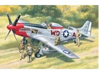 Picture of ICM - 1:48 - Mustang P-51D with USAAF Pilots and Ground Personnel 48153