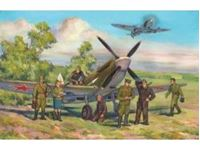 Picture of ICM - 1:48 - Spitfire LF.IXE with Soviet Pilots and Ground Personnel 48802