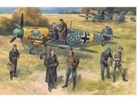 Picture of ICM - 1:48 - Bf 109F-2 with German Pilots and Ground Personnel 48803