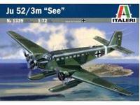 """Immagine di Italeri - 1/72 Ju 52/3M """"See"""" - include decal per 4 versioni 1339S"""