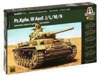Immagine di Italeri - 1/56 Pz.Kpfw. III Ausf.J/K/L/M 15757S