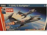 Immagine di Italeri - 1/32 F-104G/S Starfighter PRM Edition - NUOVO STAMPO 2502S