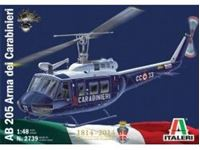 Immagine di Italeri - 1/48 AB 205 arma dei carabinieri 2739s