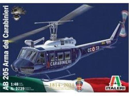 Picture of Italeri - 1/48 AB 205 arma dei carabinieri 2739s
