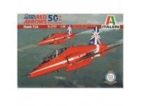 Immagine di Italeri - 1/72 : 1/48 Hawk T1A ''''Red Arrows 50 display seasons'''' 2747S
