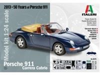 Immagine di Italeri - 1/24 PORSCHE 911 CARRERA CABRIO (50 anni della Porsche 911) 3679S