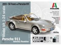 Picture of Italeri - 1/24 Porsche 911 America Roadster 3680S