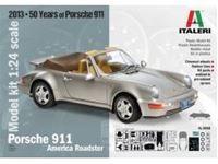Immagine di Italeri - 1/24 Porsche 911 America Roadster 3680S