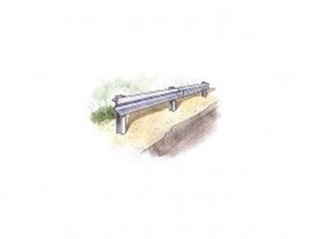 Immagine di Italeri - 1/24 Guard Rail and Road section for display 3864S