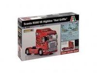 "Immagine di Italeri - 1/24 SCANIA R560 V8 HIGHLINE ""RED GRIFFIN"" 3882S"