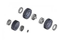Picture of Italeri - 1/24 EUROPEAN TYRES and RIMS 3909S