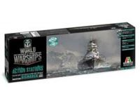 Immagine di Italeri - 1/700 Bismarck ? World of Warships Include la colla, il poster ed esclusivo Bonus Code 46501S