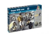 Immagine di Italeri - 1/35 Vosper Crew and accessories 5616S