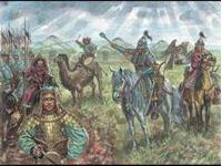 Picture of Italeri - 1/72 XIIIth CENTURY-MONGOL CAVALRY 6124S