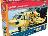 Immagine di Italeri - 1/72 UH 60 Desert Hawk 71025S