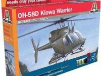 Immagine di Italeri - 1/72 AH 58D Kiowa Warrior 71027S