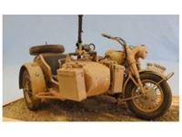 Immagine di Italeri - 1/9 BMW R75 with Sidecar 7403S