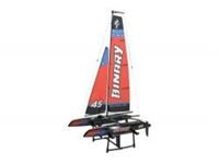 Picture of Binary 400mm mini catamaran sailboat 2.4G RTR
