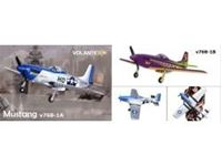 Immagine di Lanyu - R/C AIRPLANE MUSTANG 4CH BRUSHLESS V768-1A