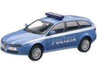 Immagine di Mondo Motors - ALFA ROMERO 159 SW POLIZIA 1:24 51023