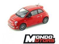 Picture of Mondo Motors - FIAT 500 ABARTH TRIBUTO FERRARI 1:24 51147