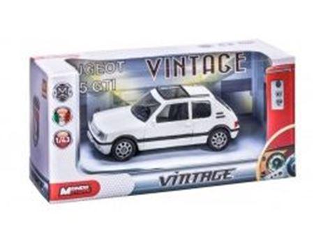 Immagine di Mondo Motors - 1/43 ASSORTMENT  VINTAGE (4 models: Renault 4 - Citroen Mehari - Citroen 2 CV - Renault Alpine) 53167