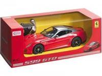 Immagine di Mondo Motors - 1:14 ASS.FERRARI R/C 1:14 con batterie NON ricaricabili (599 GTO + 458 ITALIA + FF) 63197
