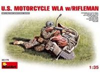 Immagine di 1/35 U.S. MOTORCYCLE WLA with Rifleman