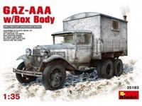 Immagine di 1/35 GAZ - AAA w/box Body