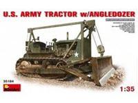 Immagine di 1/35 U.S. Army Tractor w/Angle dozer Blade