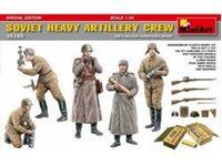 Immagine di 1/35 Soviet Heavy Artillery Crew