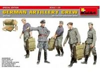 "Immagine di 1/35 German Artillery Crew ""Special Edition"" include 5 figure e accessori"