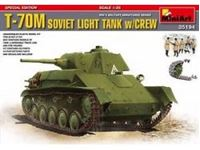 Immagine di 1/35 T-70M SOVIET LIGHT TANK w/CREW. SPECIAL EDITION include 5 figure