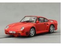 Immagine di MrSlotCar.Ca - Porsche 959 street car red  -Montecarlo chasis- MSCMSC-6019