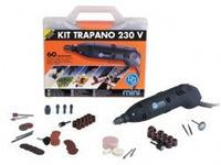 Immagine di Kit mini trapano 130W con 60 Accessori