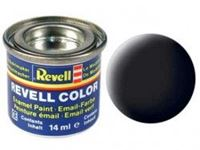 Immagine di Revell - NERO OPACO 6 X 14 ML. 32108