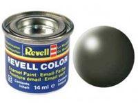 Immagine di Revell - VERDE OLIVA SATINATO 6 X 14ML. 32361
