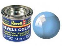 Immagine di Revell - BLU TRASPARENTE 6 X 14ML. 32752