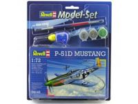 Immagine di Revell - 1:72 Model Set P-51D Mustang 64148