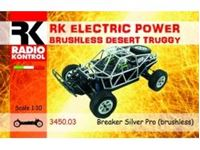 Immagine di Radio Kontrol - 1/10 Auto radiocomandata brushless Desert Truggy 4wd RKO3450-03